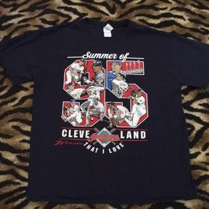 Cleveland Indians Summer 95' Shirt XL That I Love